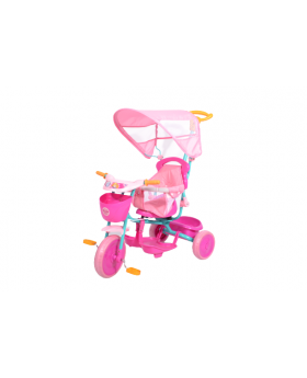 Paw Patrol Girl Push and Ride Stroller Tricycle