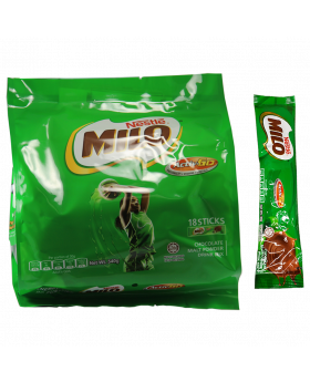 MILO ACTIV-GO Chocolate Malt Powder 30g Sticks (Pack of 18)