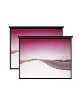 Klip Xtreme KPS-301 Ceiling & Wall Mountable Projection Screen
