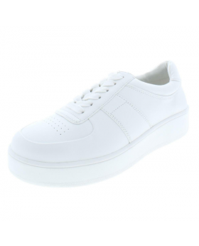 Steve Madden Mens Armed Faux Leather Low Top Casual Shoes Sneakers