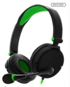 X50 Gaming Headset with Boom Mic Green