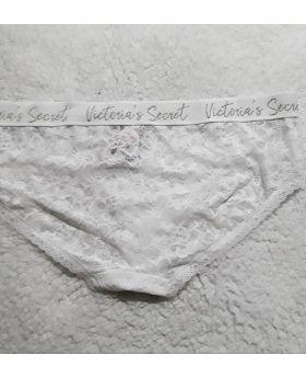 Lace Hiphugger Panty White L