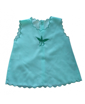 Chemise - Button Back Green