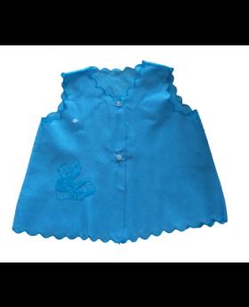 Chemise - Button Front Blue