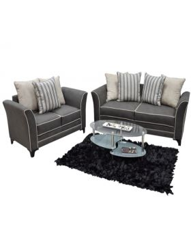 The Miami 2 Piece Sofa Set