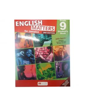 English Matters for Jamaica Grade 9 Student's Book 2nd Edition by Julia Sander