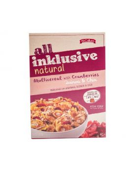 All Inklusive Natural Multicereal with Cranberries