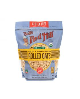 Bob's Red Mill Organic Rolled Oats 56 oz
