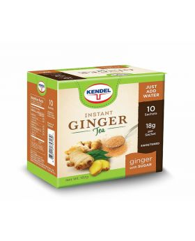 Kendel Instant Ginger Tea Unsweetened 4x10 Sachets