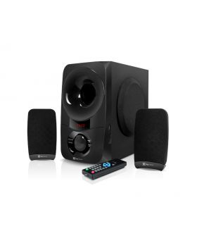 Klip Xtreme KWS-651 BluPulse 2.1 Stereo Speaker System with Wireless Technology