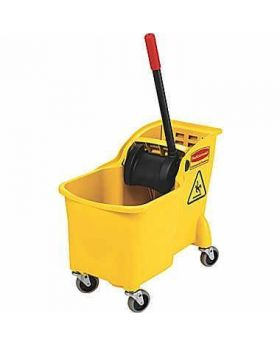 Rubbermaid Tandem™ 31 Quart Bucket and Wringer Combo