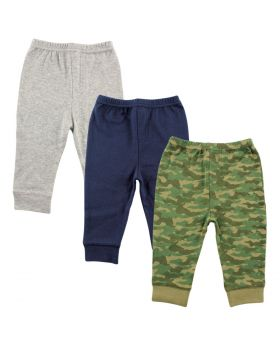 Baby and Toddler Tapered Ankle Pants  3 Pack
