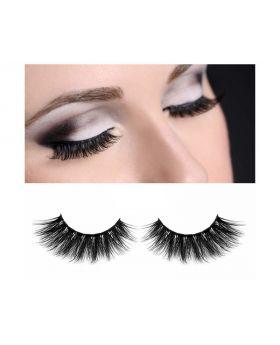 3D Mink Eyelashes Fluffy Soft Wispy Handmade False Eyelashes Dramatic Luxurious Soft for Women Bold (M05)