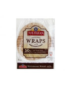 Toufayan Whole Wheat Wrap 12 Count