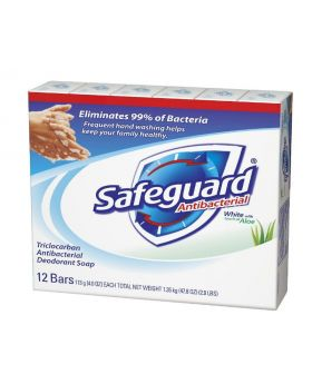 Safeguard Antibacterial Bar Soap 4 Oz. x 12 Count