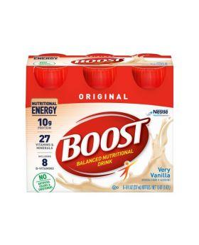 Boost Complete Nutritional Drink Vanilla Delight 8 Fl.oz 6 Pack