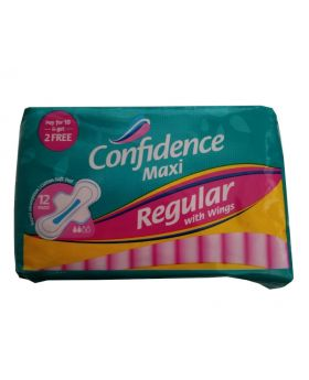 Confidence Maxi Regular with Wings 72 Pack