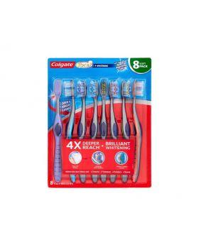 Colgate Total Whitening Toothbrush 8 Soft Pack