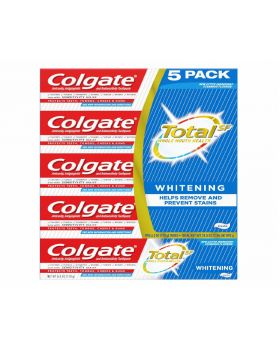 Colgate Total Whitening Toothpaste 6.3oz 5 Pack
