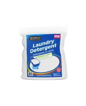 Member's Selection Powder Laundry Detergent 208 Loads 22lbs