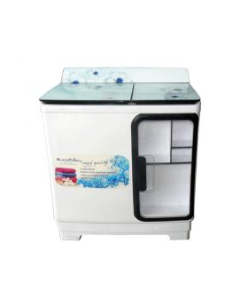 Blackpoint BP14TTW-ST-GL-BP 14kg Twin Tub Washing Machine Steel Drum & Cabinet Blue Pearl