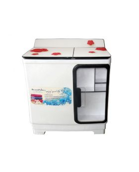 Blackpoint BP14TTW-ST-GL-RC 14KG Twin Tub Washing Machine Steel Drum & Cabinet Red Cherry