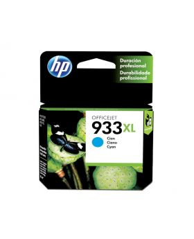 HP 933XL Cyan 8.5ml Original High Yield Ink Cartridge (CN054AL)