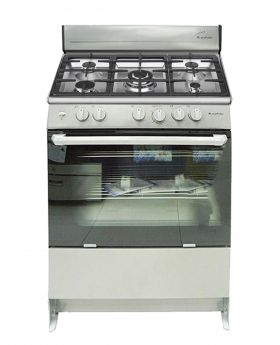 Blackpoint 30 Inch 5 burner Silver Steel Gas Stove luxury with heavy grill
