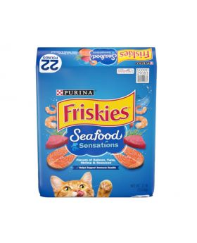 Friskies Seafood Sensation 22 lbs Cat Food