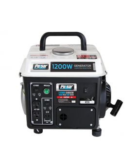 Pulsar PG12025 1200W Peak 900W Rated Generator with 2-Stroke 72cc Engine