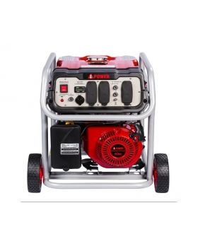 A-iPower SUA5000 4250-Watt Gasoline Powered Portable Generator Front View