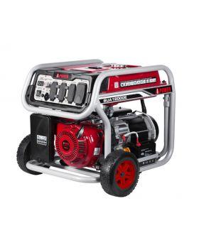 A-iPower SUA12000EC 9000W Gasoline Powered Start Portable Generator Angled Left