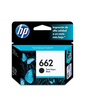 HP 662 Black Original Ink Advantage Cartridge 2 Pack