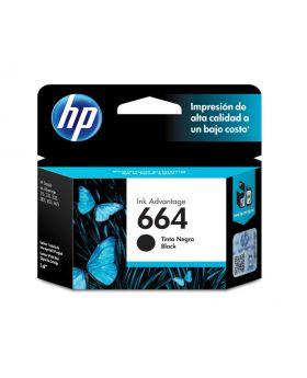 HP 664 Black Original Ink Advantage Cartridge 2 Pack