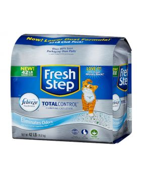 Fresh Step Odor Shield Scented Litter With The Power Of Febreeze 42 lbs