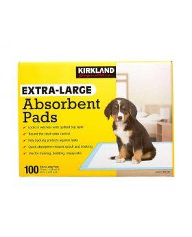 Kirkland Signature Extra Large Absorbent Pads 100 Count