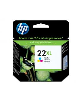 HP 22XL Tricolor 11 ml High Yield Original Ink Cartridge (C9352CL)