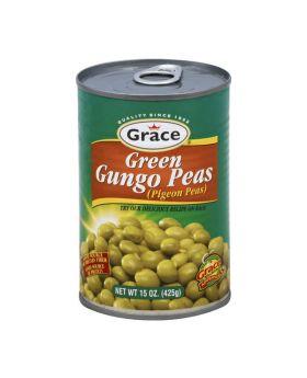 Grace Green Gungo Peas 425g 6 Pack