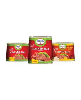 Kendel Corned Beef 7 Oz. Variety 6 Pack