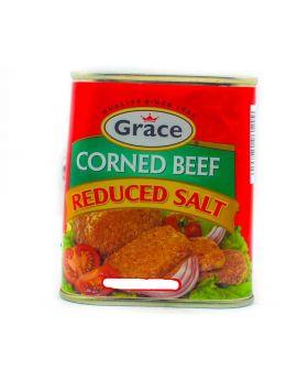 Grace Reduced Salt Corned Beef 7 Oz. 6 Pack