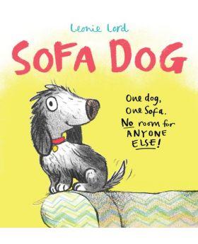 Sofa Dog by Leonie Lord