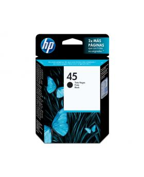 HP 45 Black 42ml Original Ink Cartridge (51645AL)