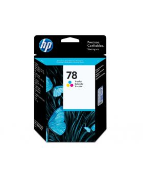HP 78 Tricolor 19ml Original Ink Cartridge (C6578DL)