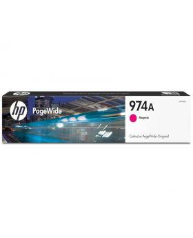 HP 974A Magenta Original PageWide Cartridge (L0R90AL)