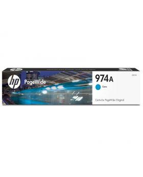 HP 974A Cyan Original PageWide Cartridge (L0R87AL)