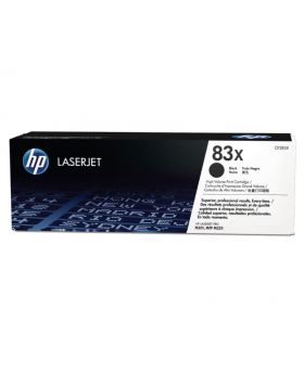 HP 83X Black High Yield Original Toner Cartridge (CF283X) in Box