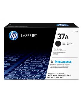 HP 37A Black Original Toner Cartridge (CF237A) in Box