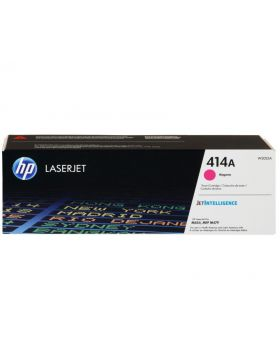 HP 414A Magenta Original Toner Cartridge (W2023A) in Box