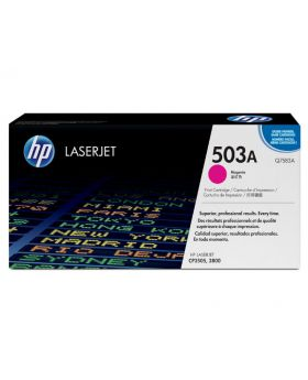 HP 503A Magenta Original LaserJet Toner Cartridge (Q7583A) in Box
