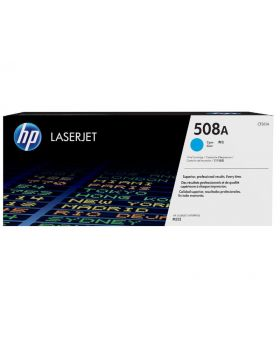 HP 508A Cyan Original Toner Cartridge (CF361A) in Box